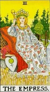 La terza carta dei Tarocchi: l'Imperatrice degli Arcani Maggiori