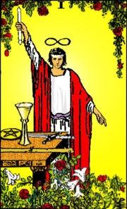 La prima carta degli Arcani: il mago