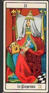 Ecco la seconda carta dei Tarocchi: la Papessa
