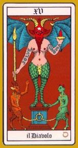 La quindicesima carta dei Tarocchi: il Diavolo