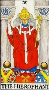 Ecco la quinta carta dei Tarocchi: il Papa