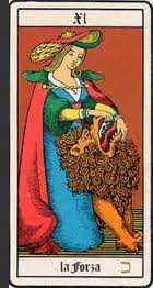 L'undicesima carta degli Arcani Maggiori dei Tarocchi: la Forza