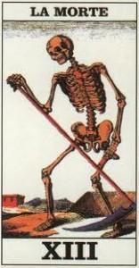 La tredicesima carta dei Tarocchi: la carta della Morte