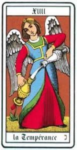 La Temperanza: carta n°14 degli Arcani Maggiori dei Tarocchi